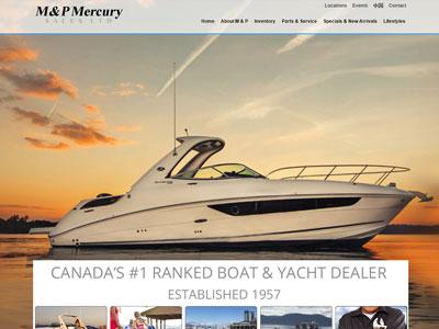 M&P Mercury website